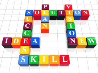 Plan solution vision success idea skill new